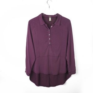 free people we the free ∙ button up hi low blouse